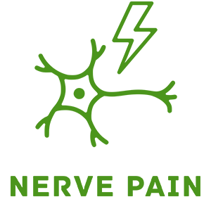 Picture of nerve pain IV therapy icon