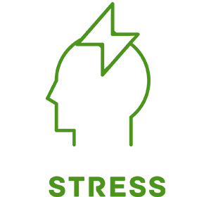 Picture of stress IV therapy icon