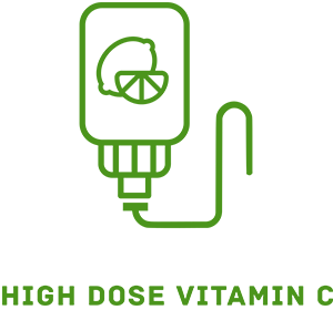 Picture of high dose vitamin c IV therapy icon