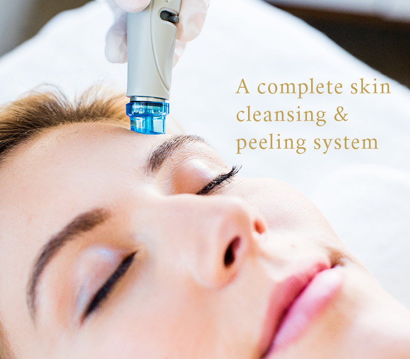 Picture of Woman receiving Hydrafacial